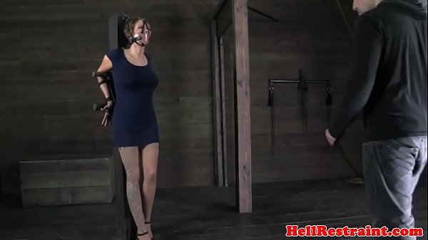 Slave, Caning, Suspenders