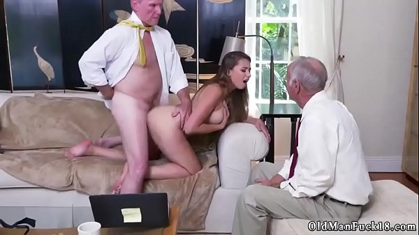 Old man, Ivy, Eating pussy