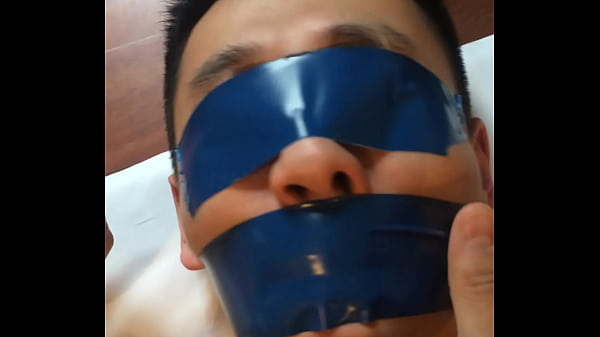 Tied, Chinese m, Chinese slave, Tie, Pvc, Gagged