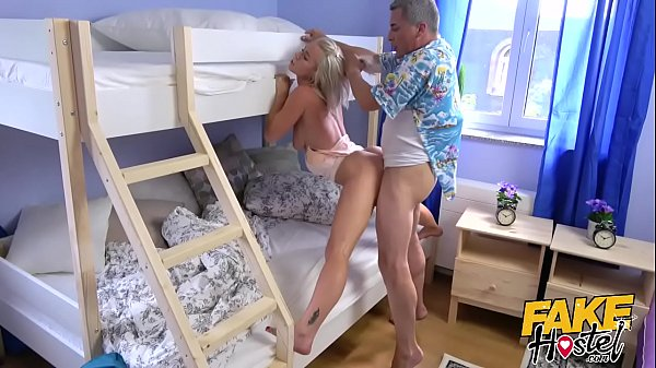 Hostel, Rimming, Natural tits, Nipple, Fuck in ass, Girls rimming