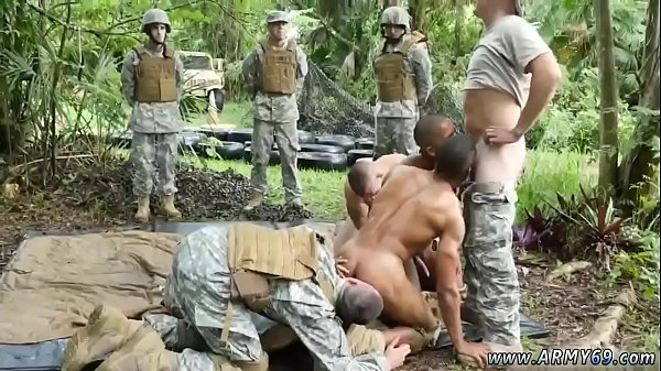 Jungle, Gay hairy, Soldier, Military
