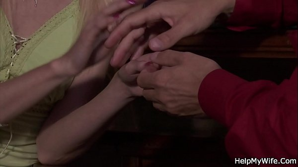 Cuckold, Blonde wife, Young blonde