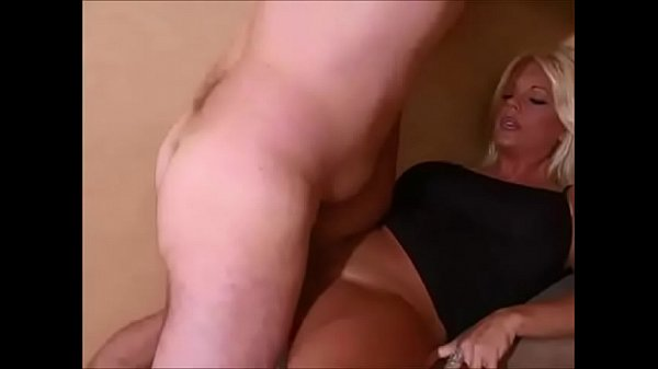 At home, Blonde wife