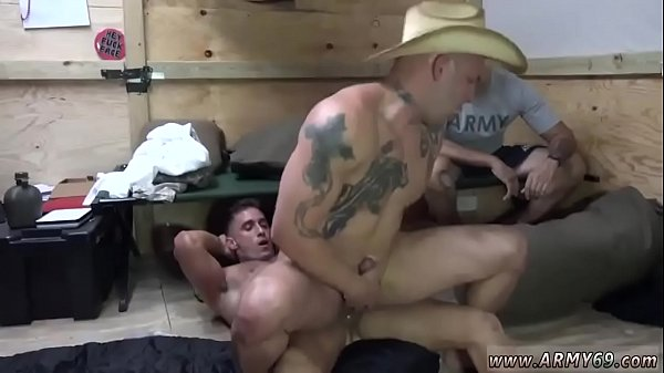 Army, Gay party, Man solo